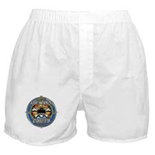 USN Navy Chiefs Backbone of the Fleet Boxer Shorts