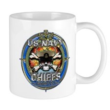 USN Navy Chiefs Backbone of the Fleet Mug