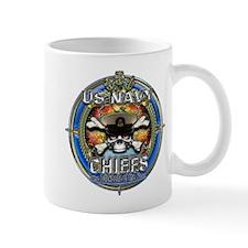USN Navy Chiefs Backbone of the Fleet Small Mug