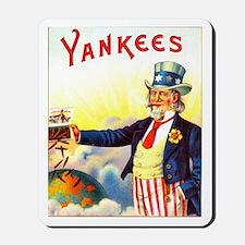Yankees Cigar Label Mousepad