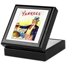 Yankees Cigar Label Keepsake Box