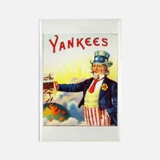 Yankees Cigar Label Rectangle Magnet