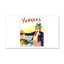 Yankees Cigar Label Car Magnet 20 x 12