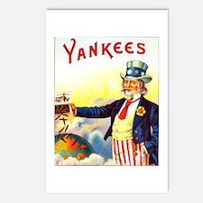 Yankees Cigar Label Postcards (Package of 8)