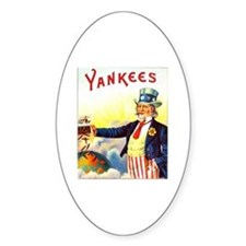 Yankees Cigar Label Decal
