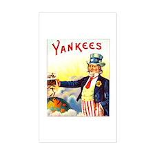 Yankees Cigar Label Decal