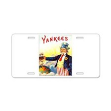 Yankees Cigar Label Aluminum License Plate