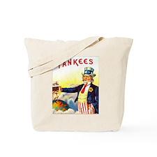 Yankees Cigar Label Tote Bag