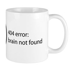 Brain Not Found Mug