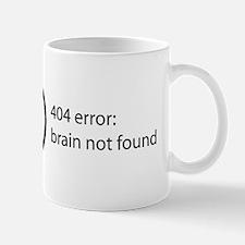 Brain Not Found Mug