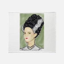 Bride of Frankenstein Throw Blanket