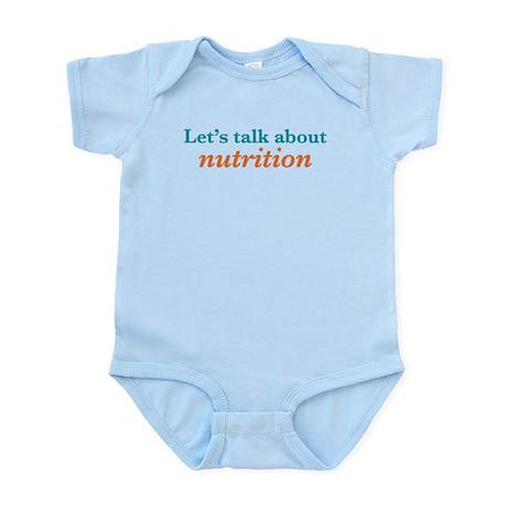 Talk Nutrition Infant Bodysuit