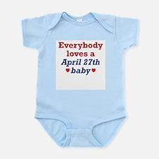 April 27th Infant Creeper