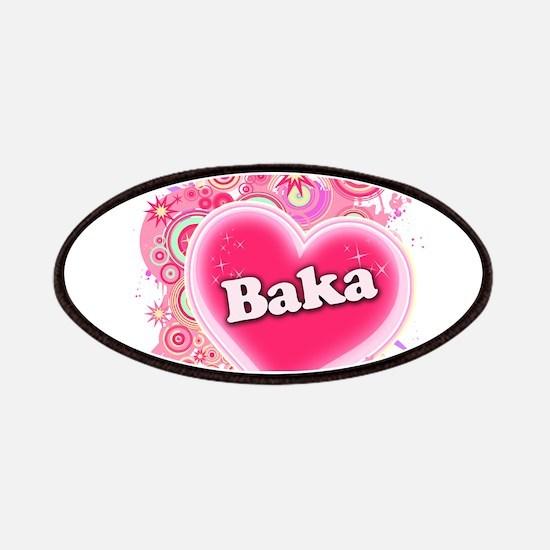 Baka Heart Art Patches
