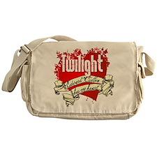 Edward Cullen Has My Heart Messenger Bag