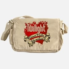 Edward Cullen Tattoo Messenger Bag