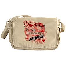I Love Edward Cullen Messenger Bag