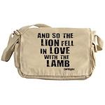 Twilight Movie Quote Messenger Bag