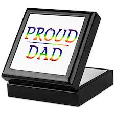 Proud Dad Keepsake Box