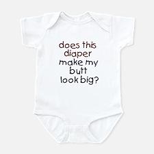 butt look big? - Infant Creeper
