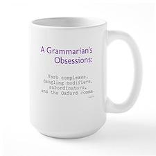 Grammarian's Obsessions Mug