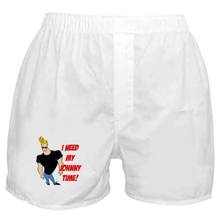 I Need My Johnny Time! Boxer Shorts