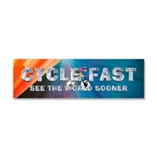 TOP Cycle Fast Car Magnet 10 x 3