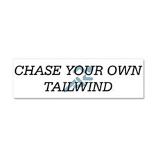 TOP Chase Your Tailwind Car Magnet 10 x 3