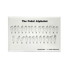 Pedal Alphabet Magnet
