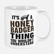 Honey Badger Thing Small Small Mug