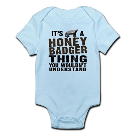 Honey Badger Thing Infant Bodysuit