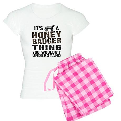 Honey Badger Thing Women's Light Pajamas