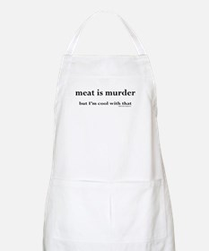 Meat is murder, but... BBQ Apron