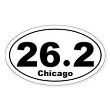 Chicago 26.2 Decal