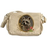 Raccoon messenger bags Messenger Bag