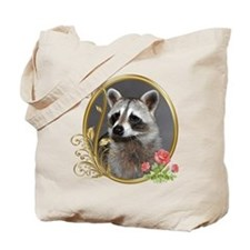 Raccoon Portrait Tote Bag