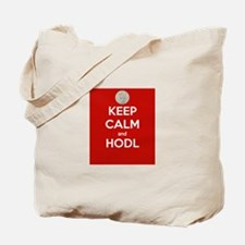 Keep Calm and Hodl Tote Bag