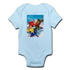 Wild West Fight in the Snow Infant Bodysuit