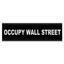 Occupy Wall Street - Bumper Sticker
