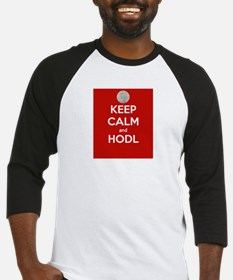 Keep Calm and Hodl Baseball Jersey