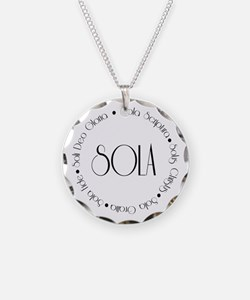 5 Solas Necklace