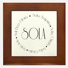 5 Solas Framed Tile