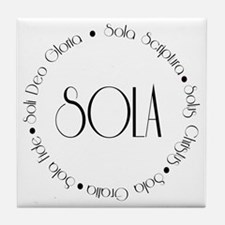 5 Solas Tile Coaster