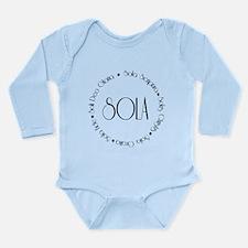 5 Solas Long Sleeve Infant Bodysuit