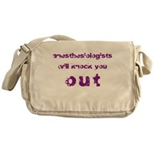 Anesthesiologists... Messenger Bag