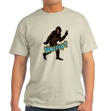 Bigfoot Sasquatch Yetti Wassup T-Shirt