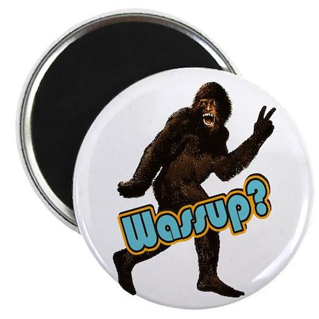 "Bigfoot Sasquatch Yetti Wassup 2.25"" Magnet (100 p"