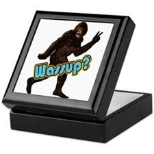 Bigfoot Sasquatch Yetti Wassup Keepsake Box
