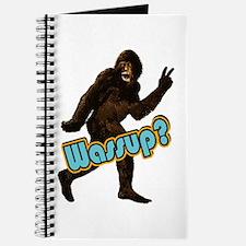 Bigfoot Sasquatch Yetti Wassup Journal