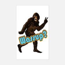 Bigfoot Sasquatch Yetti Wassup Decal